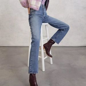 """AGOLDE LANA VINTAGE STRAIGHT LEG JEANS IN """"VIGNETTE"""" BRAND NEW WITH TAGS! ✨"""